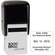 View of 2000 Plus Q-30 Self-Inking Dater from Cool School Studios.