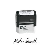View of 2000 Plus Large Self-Inking Signature Stamp (Printer 40) from Cool School Studios.