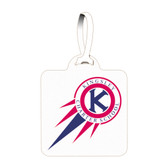 Shown is the Cool School Studios (4017) Easy Lock plastic tag.