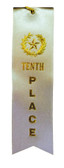 Shown is Tenth Place Ribbon (Cool School Studios 090016).
