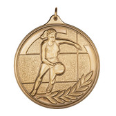 F Basketball - 500 Series Medal - Priced Each Starting at 12