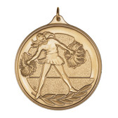 F Cheerleading - 500 Series Medal - Priced Each Starting at 12