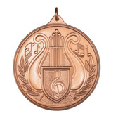 Music - 500 Series Medal - Priced Each Starting at 12