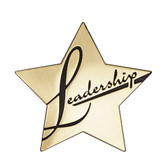 "Shown is the ""Leadership"" Star Series Medallion (Cool School Studios SS081M)."