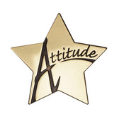 "Shown is the ""Attitude"" Star Series Medallion (Cool School Studios SS079M)."