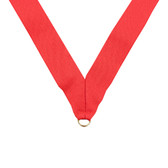 Red Medal Neck Ribbon - Priced Each Starting at 12