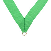 Kelly Green Medal Neck Ribbon - Priced Each Starting at 12