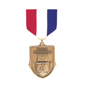 Red, White & Blue Medal Pin Drapes - Priced Each Starting at 12