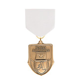 White Medal Pin Drapes - Priced Each Starting at 12
