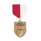 Red & White Medal Pin Drapes - Priced Each Starting at 12