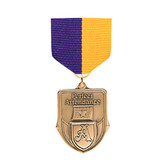 Purple & Gold Medal Pin Drapes - Priced Each Starting at 12