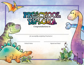 Dinosaurs Preschool Diploma from Cool School Studios.