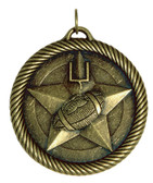 0941 Football Value Medal from Cool School Studios.