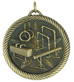 0946 Gymnastics Value Medal from Cool School Studios.