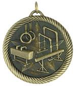 0946 Gymnastics Value Medal from Cool School Studios.