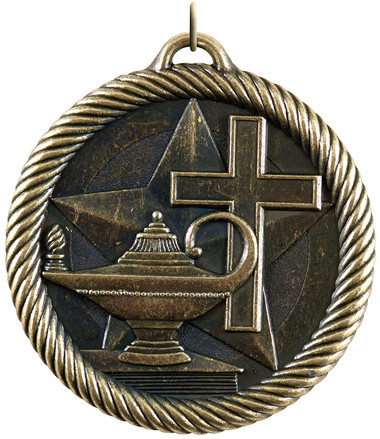 0955 Christian School Value Medal from Cool School Studios.