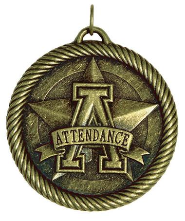 0961 Attendance Value Medal from Cool School Studios.