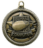 0968 Computer Value Medal from Cool School Studios.