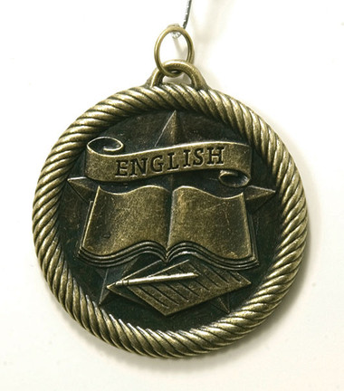 0974 English Value Medal from Cool School Studios.