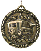 0978 Come to School Value Medal from Cool School Studios.