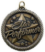Star Performer - Value Medal - Gold Only - Priced Each Starting at 12