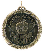 0983 A/B Apple Honor Roll Value Medal from Cool School Studios.