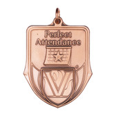 Perfect Attendance - 100 Series Medal - Priced Each Starting at 12