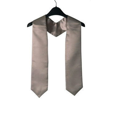 Shown is silver child stole (Cool School Studios 0928), front view.