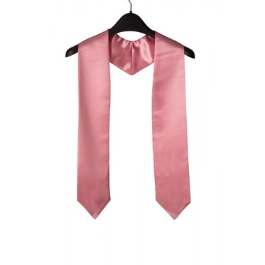Shown is pink child stole (Cool School Studios 0932), front view.