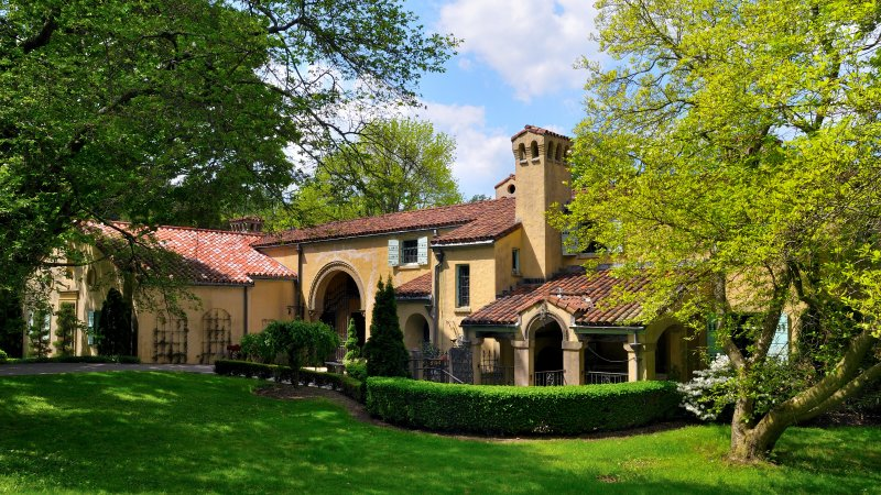 Caramoor estate in Katonah, now used as a wedding venue