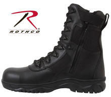 """Forced Entry"" Tactical Boot w/Side Zipper"