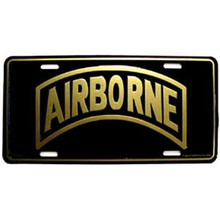 License Plate - Airborne