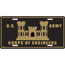 License Plate - U.S. Army Corps of Engineers