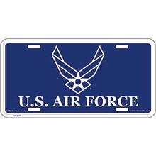 License Plate - Air Force