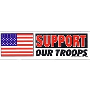 Bumper Sticker - Support Our Troops