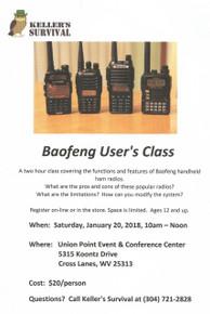 Baofeng User's Class