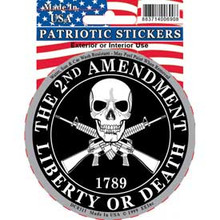 Bumper Sticker - The 2nd Amendment, Liberty or Death 1789