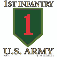 Bumper Sticker - US Army 1st Infantry