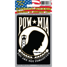 Bumper Sticker - POW MIA You Are Not Forgotten
