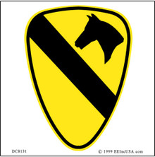 Bumper Sticker - Army 1st Cav.