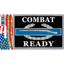 Bumper Sticker - Army, Combat Ready