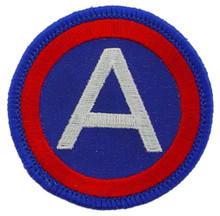 "Patch - 3rd Army (3"" - 4"")"
