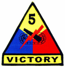 "Patch - 5th Arm Div (3-3/4"")"