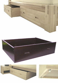 TALL Platform Storage Drawers,Set of Two