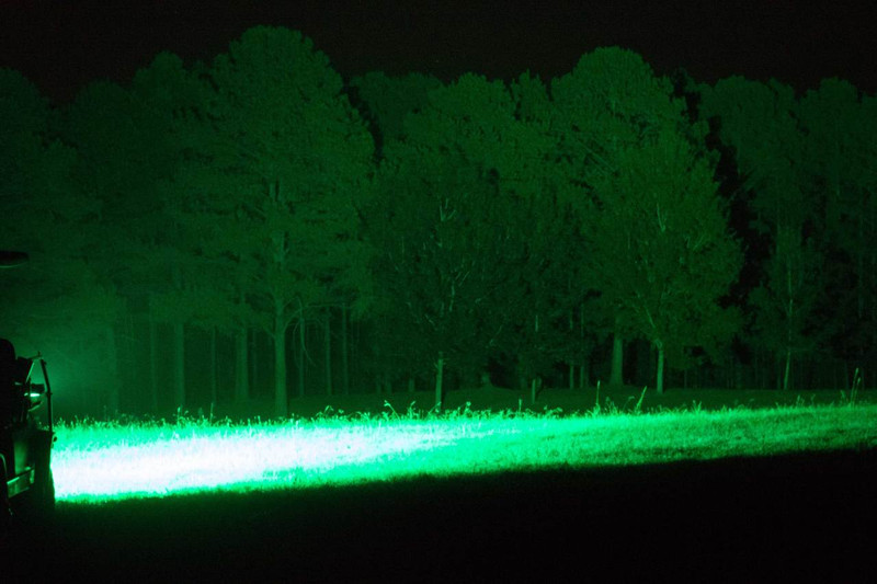 No more spooking or Disturbing game with this hyper green light barOn