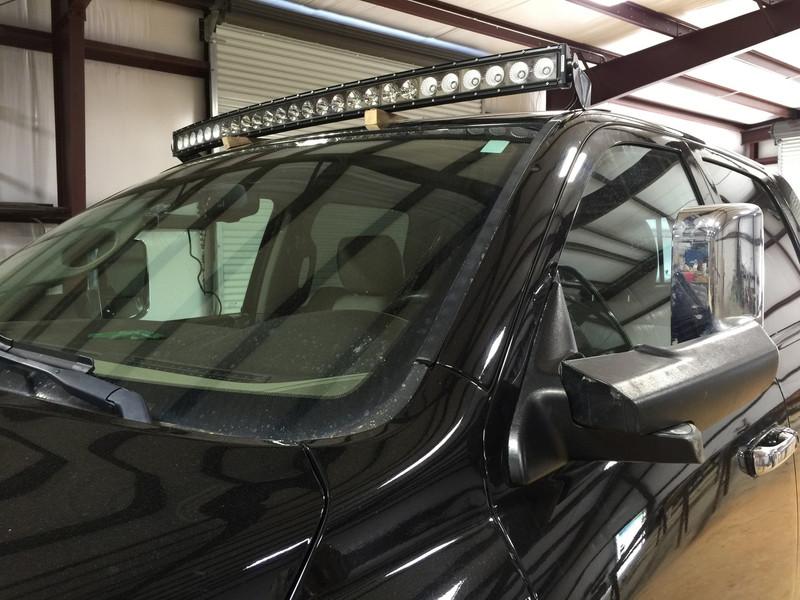 "Dodge Ram Curved 54"" Light Bar and Bracket Package (Includes Light Bar, Brackets, & Wiring Harness)"