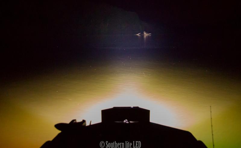 floating debris 150 yards