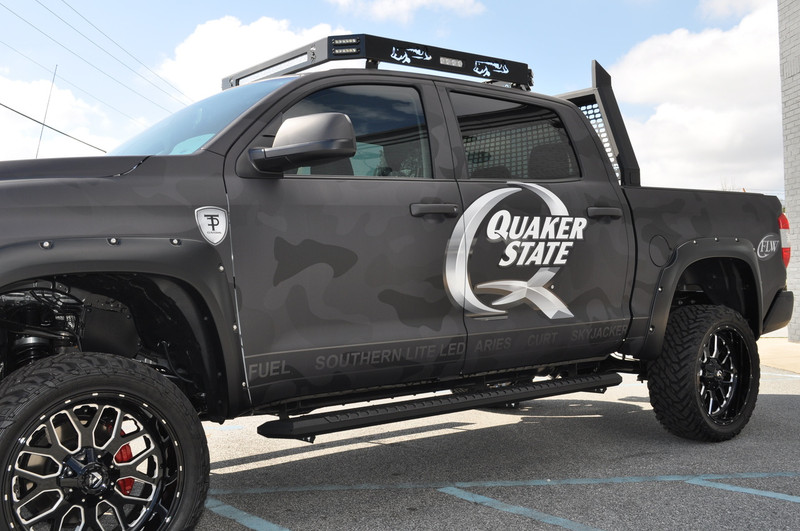 The ** NEW ** SLL Ultimate Outdoor Truck Roof Rack
