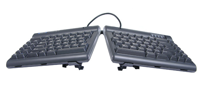 Freesytyle2 Keyboard with V3 Accessory (Tenting without Palm Supports)