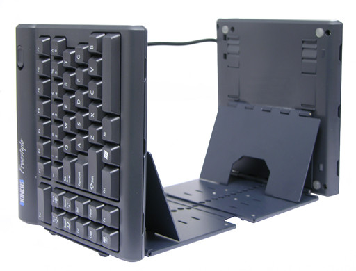 Freestyle2 Keyboard with Ascent Accessory (Tenting between 20 & 90 degrees)